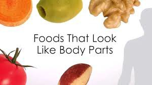 healthy foods, foods that look like body parts they are meant for, healthy living, holistic health, holistic healing,